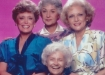 Early publicity still for The Golden Girls