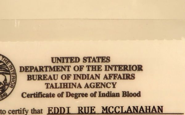 Rue\'s Government Issued Indian Blood ID Card [SOLD] | The Estate of Rue