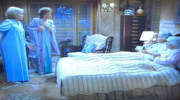 Blanche S Lavender Silk Robe From The Golden Girls