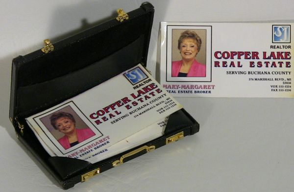 Mini briefcase card holder from movie with della reese sold the mini briefcase card holder from movie with della reese sold colourmoves