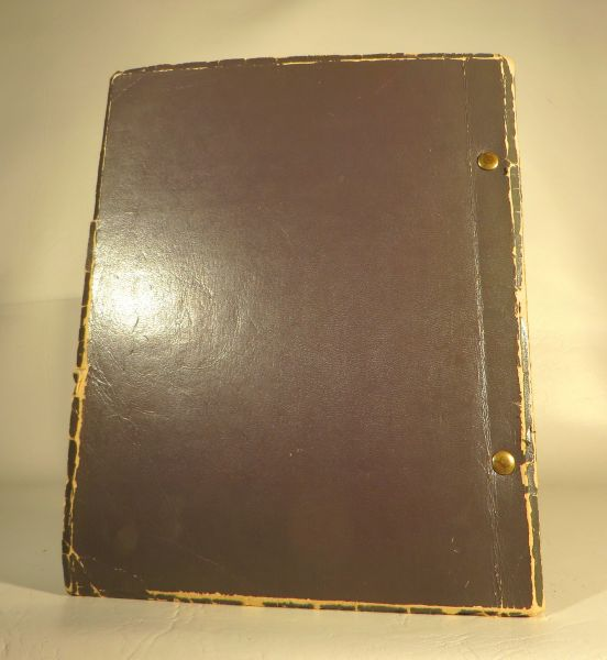 """Rue's Original Bound Script From """"Who's Happy Now"""""""