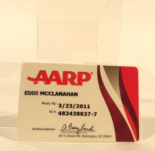 Rues Aarp Card Getting Old Is A State Of Mind Sold The