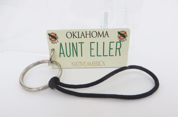 Rue S Bathroom Keychain From Production Of Oklahoma The