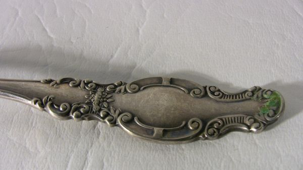 Three Antique Sterling Silver Serving Pieces New Price